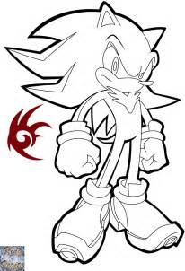 shadow the hedgehog coloring pages shadow the hedghog lineart by kingvegito on deviantart