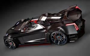 Hybrid Lamborghini Lamborghini Diverso Hybrid Is Similar To Batman Car
