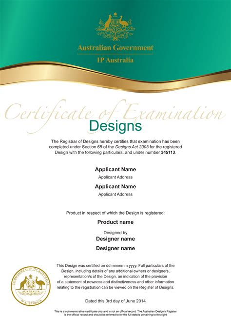 certificate design with photo design certificate fresh creative design print signage