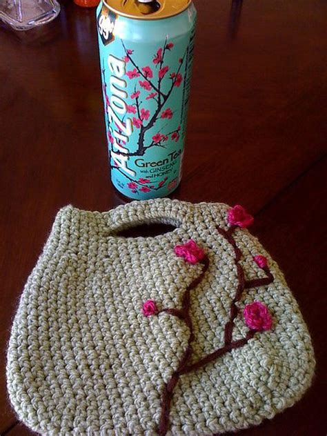 crochet bag japanese pattern 15 beautiful cherry blossom crochet patterns