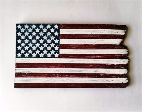 rustic country home decor barn wood american flag patriotic wall decor rustic