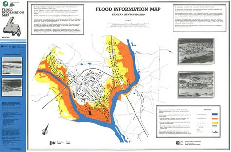 flood map badger water level information environment and climate change