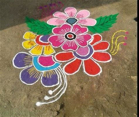 easy and simple rangoli designs rangoli designs and