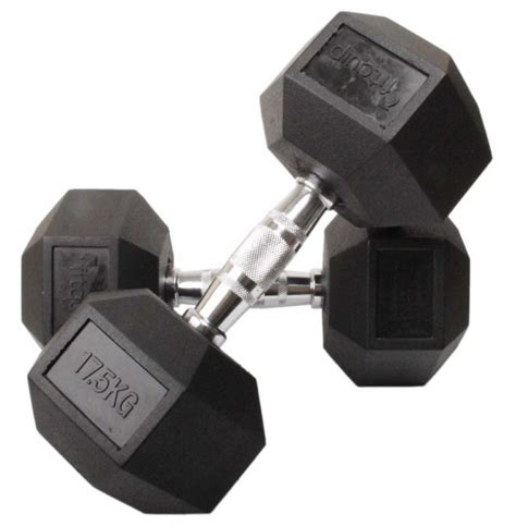 hex rubber dumbbell eser marketing fitness pvt ltd