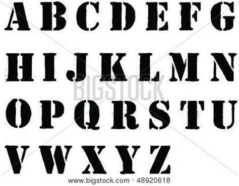 stencil lettering templates banksy style grafitti stencil vector photo bigstock