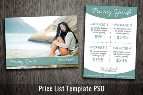 photoshop template list furnitures price tag sle template in photoshop
