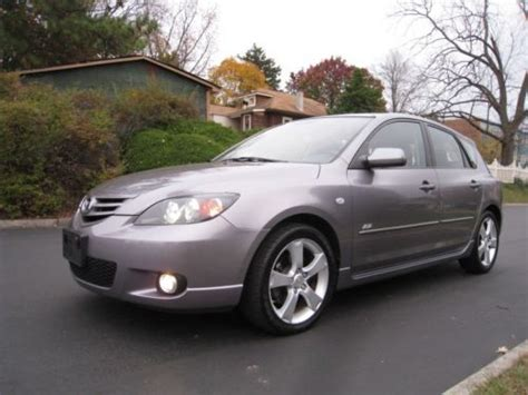Mazda 3 Hatchback Manual Transmission by Sell Used 2004 Mazda 3 Hatchback Only 74k One Owner