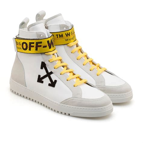 white high top sneakers for high top sneakers from the f w2017 18 white c o virgil