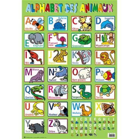 alfabet farris theme html poster p 233 dagogique en pvc 76x52 cm l alphabet des