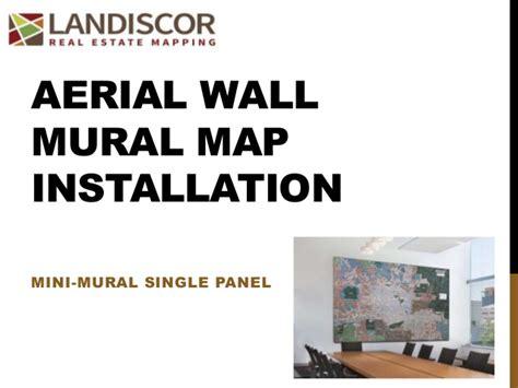 wall mural installation aerial wall mural installation