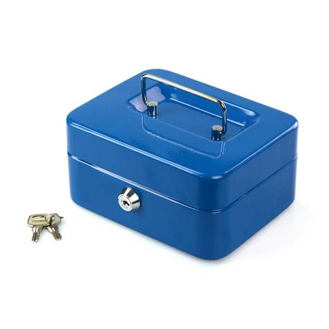 Safety Deposit Box petty safety deposit box metal security steel money bank coin tray holder
