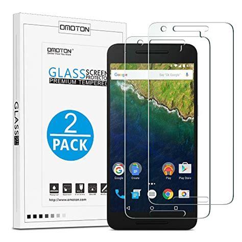 Huawei Nexus 6p Tempered Glass 9h 0 26mm omoton nexus 6p screen protector 2 pack 9h hardness