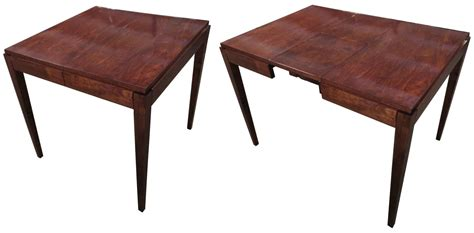 deco table american deco card table with a secret modernism gallery