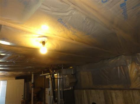 how to install vapor barrier basement new basement and