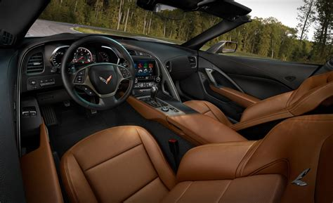 stingray corvette interior car and driver