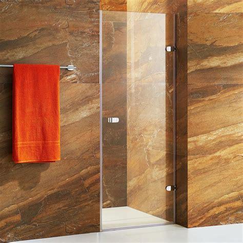 Vigo Tempo 24 In To 24 5 In X 70 625 In Frameless Pivot Home Hardware Shower Doors