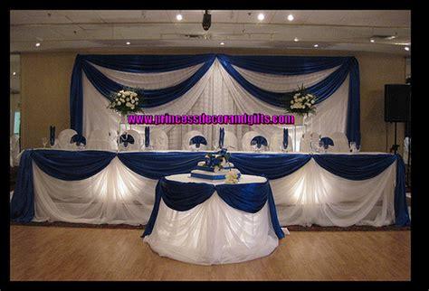 wedding centerpieces royal blue royal blue satin