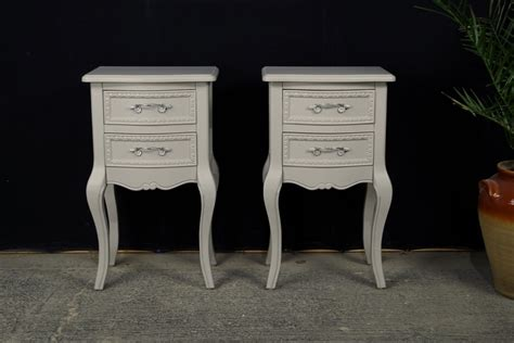 country style bedside tables two country style bedside tables painted