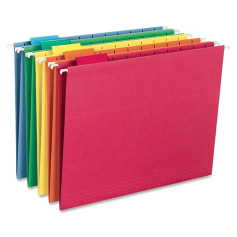 colored folders smead colored hanging folder ld products