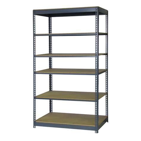 edsal 84 in h x 48 in w x 18 in d 6 shelf boltless