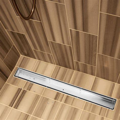 Shower Floor Insert by 1200mm Tile Insert 304 Stainless Steel Shower Grate Drain
