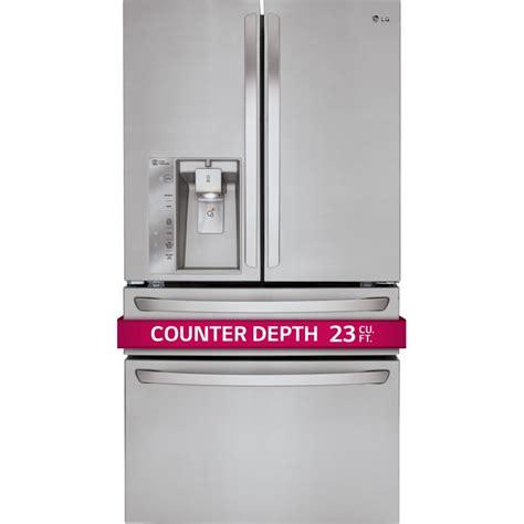 lg lmxc23746s 36 quot counter depth door refrigerator