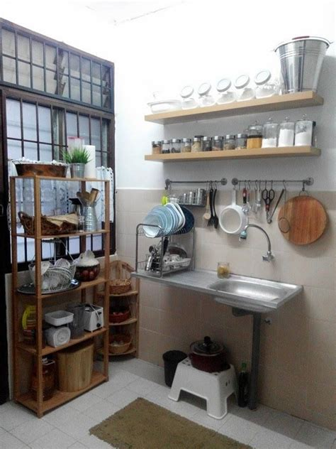 deco dapur rumah sewa