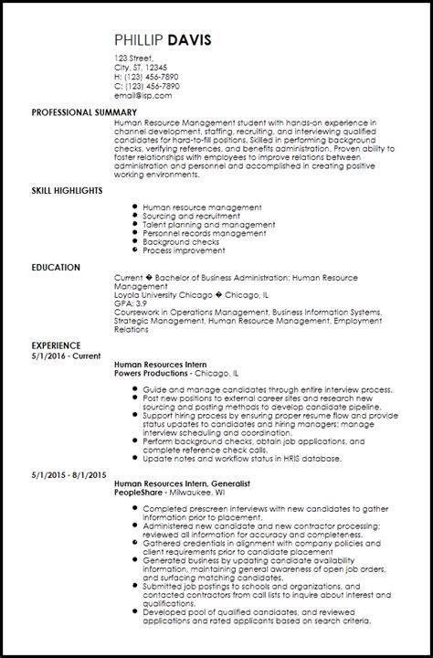 Free Creative Internship Resume Templates Resumenow Internship Resume Template