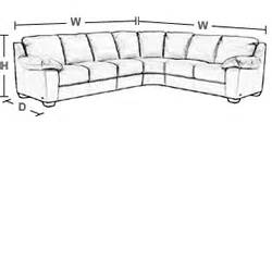 How To Measure A Sectional Sofa Slumberland Barrow Collection Left Chaise Sectional