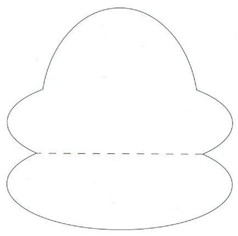card hats templates best photos of oval hat templates oval shape template