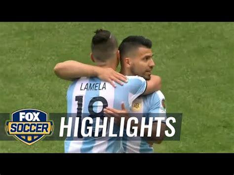 usa vs argentina 2016 copa america highlights doovi