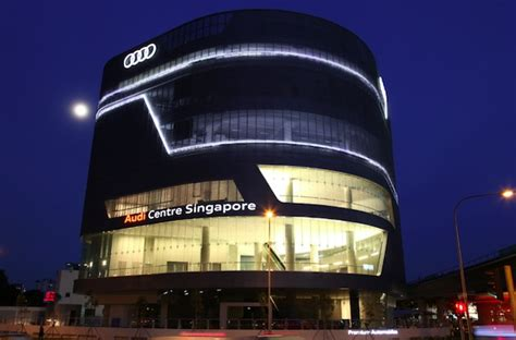 Audi Media Centre by The Birth Of An Icon The New Audi Centre Singapore Is Now