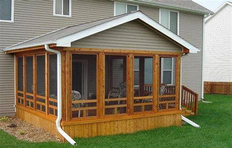 screened porch plans designs cedar screened in porch screened in porches screened in