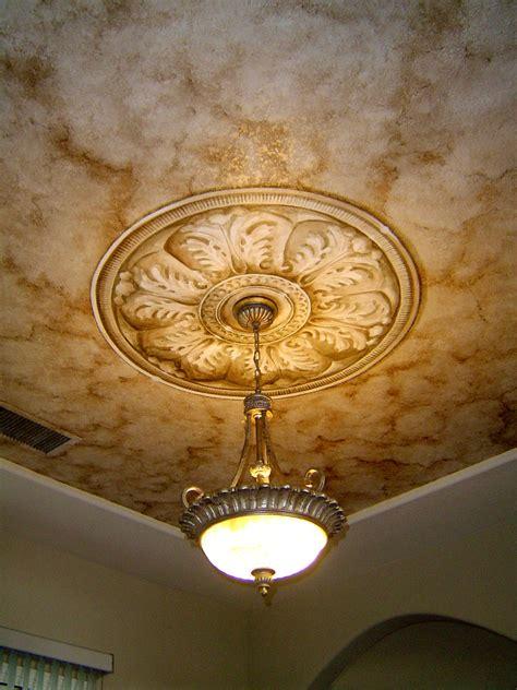Rosette Ceiling murals tim lemen