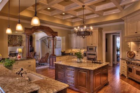 big kitchen designs big luxury kitchen beautiful rooms pinterest