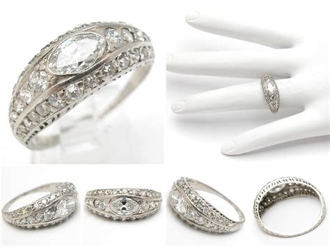 cheap antique style wedding ring sets the wedding