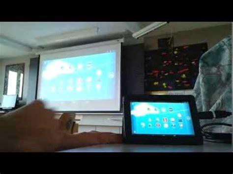 hdmi verbindung tablet zu beamer youtube