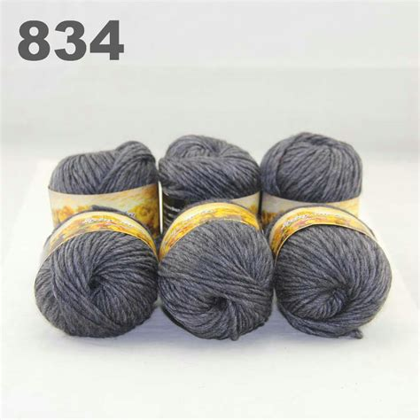knitting in new yarn lot of 6skeinsx50gr new chunky woven colors knitting