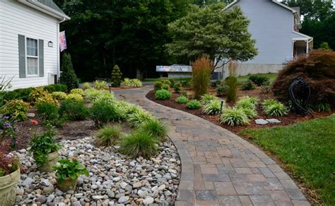 front yard curb appeal landscaping front yard curb appeal huntingtown traditional