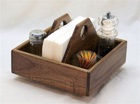Cool Salt And Pepper Shakers by Items Similar To Lazy Susan Kitchen Caddy Napkin Holder