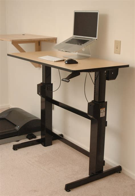 Standing And Sitting Desk Ergotron Workfit D Sit Stand Desk Review Deskhacks