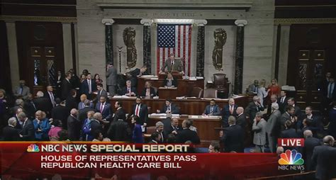 is the house republican house narrowly passes republican health care bill kobi