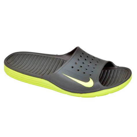 nike sandals nike solarsoft slide mens sandals ebay