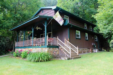 riverfront cabin near brevard nc