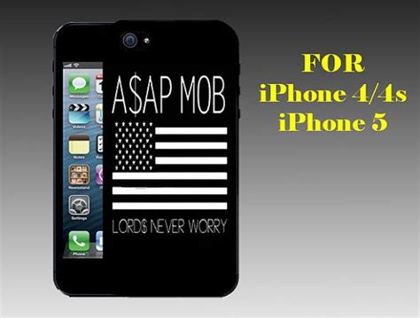 Asap Rocky Asap A0978 Iphone 4 4s 5 5s 6 6s 6 Plus 6s Plus asap rocky gold vsvp print on cover by