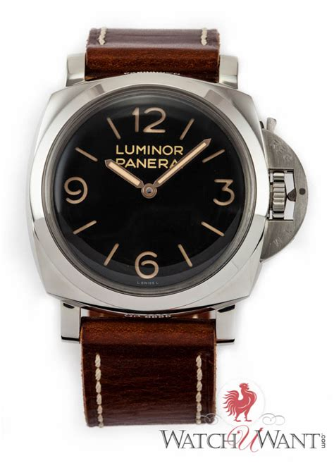 Panerai Luminor Panerai Pam372 47mm N sold listing panerai pam 372 n luminor 1950 base 3 day power reserve 47mm stainless