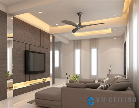 living room false ceiling singapore landed house