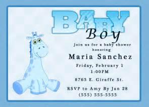 free baby boy shower invitations templates baby boy shower invitations wording ideas