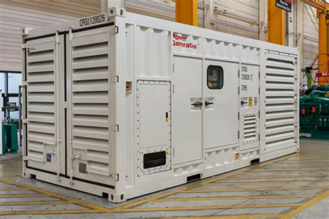provision of large power packages generators ese