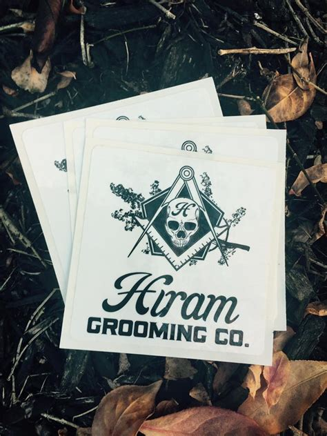grooming ky beard grooming ky can label design for hiram grooming co of ky